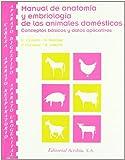 Manual de anatomía y embriología de los animales domésticos: cabeza, aparato respiratorio--