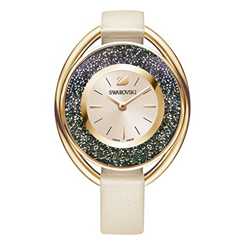 Swarovski orologio crystalline oval, rosa