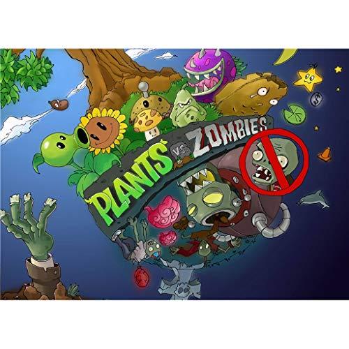 Unbekannt WYF Pflanzen Vs. Zombies: 300.500.1000 Teile Puzzle P629 (Color : E, Size : 300pc) - New Teile Puzzle York 300