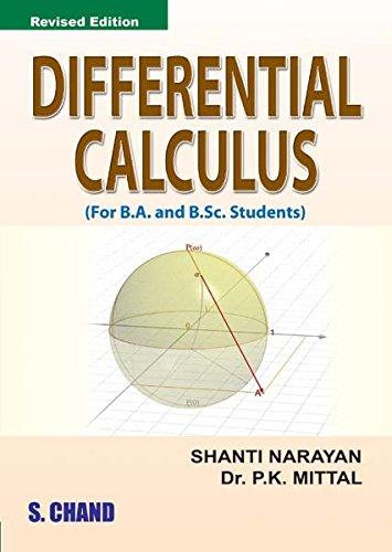 Differential Calculus por Shanti Narayan