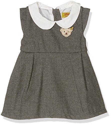 Steiff Collection Mädchen Kleid Kleid Flügelarm, Gr. 56, Grau (gray violet 1210)
