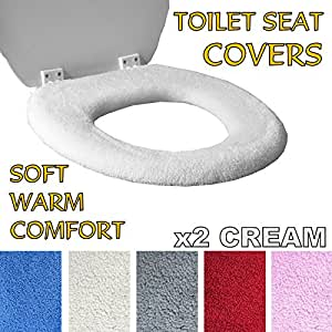 Medipaq Toilet Seat Cover Super Warm Fleece Retaining