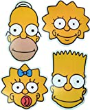 The Simpsons - MULTIPACK - 4 Card Face Masks