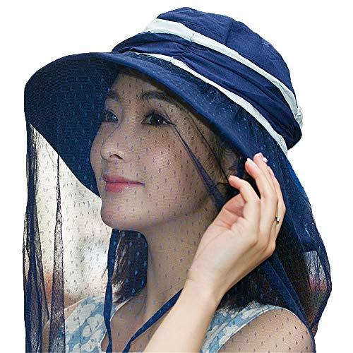 2019 Persönlichkeit Sonnenhut, The Sun Visor Hut Deckt Das Gesicht Des Sonnenhutes Zum Schutz gegen die Moskito-Kappe, MingXinJia -