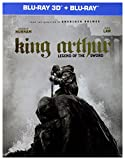 King Arthur: Legend of the Sword Steelbook [Blu-Ray]+[Blu-Ray 3D] [Region B] (English audio. English subtitles)