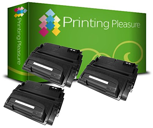 Printing Pleasure 3 Toner kompatibel für HP Laserjet 4300 Serie   Q1339A 39A -