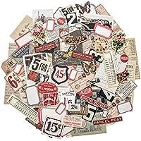 Unbekannt Tim Holtz Ephemera Pack, Papier, Mehrfarbig, 12,1x 10x 1cm