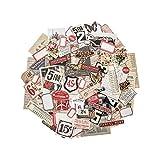 Tim Holtz Ephemera Pack, Paper, Multi-Colour, 12.1 x 10 x 1 cm