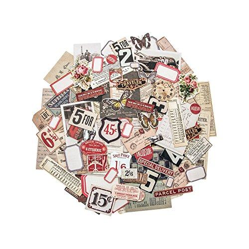 Unbekannt Tim Holtz Ephemera Pack, Papier, Mehrfarbig, 12,1x 10x 1cm -