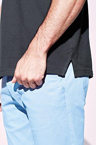 Stedman Original Premium Poloshirt für Herren 100% Baumwolle Piqué Slate Grey