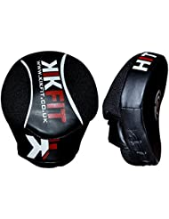 KIKFIT MMA Boxeo Curvado Focus Pads Mitones Entrenamiento Punching Kick Shield Gancho y Jab Pads