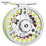 AnglerDream 5 6WT Fly Reel with Line Combo Large Arbor Aluminum Fly Fishing