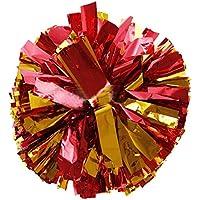 ANGTUO 2 PCS sport di squadra Cheerleading Pom Poms Pom