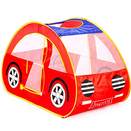 GIGALUMI Pop Up Play Tent Red Fo...
