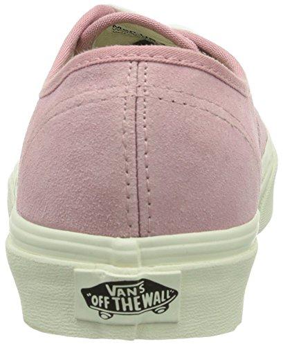 Vans - U Authentic (Rivet) Andorra, Sneaker basse Unisex – Adulto Rosa(Pink ((Vintage Suede) F1G))