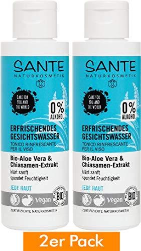 Sante Bio Erfrischendes Gesichtswasser (1 x 125 ml)