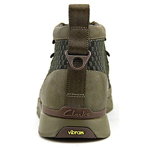 Clarks Tawyer Stealth Round Toe Leder Chukka-Stiefel 03527-KHAKI COMB