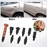 Bolange La penna di massetto dello strumento di riparazione della sag di automobile di 9 pezzi, prodotti durevoli di cura del corpo dello strumento di rimozione della lega