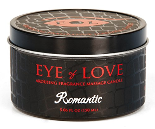 EYE OF LOVE Pheromon-Massage Kerze - Romantik, 1er Pack (1 x 150 ml)