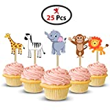 Party Propz™ Jungle Cup Cake Topper set of - Best Reviews Guide