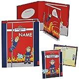 Unbekannt 2 tlg. Set: Freundebuch + Ringbuch / Sammelordner  Meine Kindergartenzeit  Album - incl. Namen - Kindergarten / Dokumente A4 - Feuerwehr / Feuerwehrmann Fri..