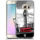 Head Case Designs Big Ben Tour De L'horloge Londres Meilleurs Endroits - Collection 2 Étui Coque en Gel molle pour Samsung Galaxy S7 edge