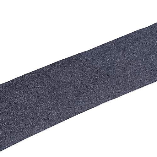pushfocourag Grip Tape Sand Papier Skateboard Skate Skating Roller Aufkleber Longboarding Scooter Skateboard Anti-Rutsch Schleifpapier Aufkleber Wasserdicht Rutschfest, Schwarz