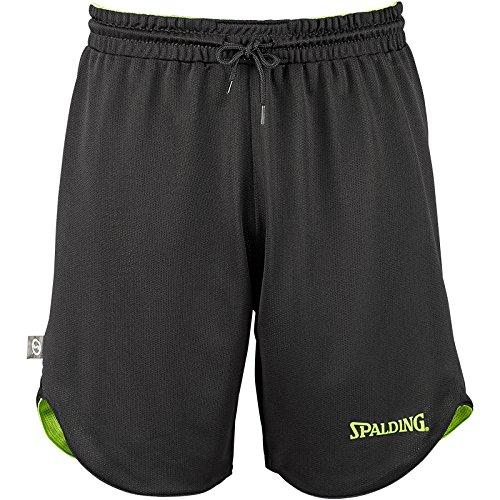 Spalding Kinder DOUBLEFACE KIDS SET Kinder Trikot&shorts Set Trikot Doubleface Set, Mehrfarbig (Reversible Green/Black), XS  (152)