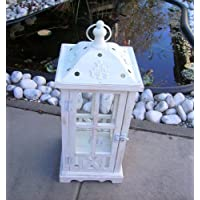 Splendide legno lanterna con cupola tetto 45,5 cm grande! 10013