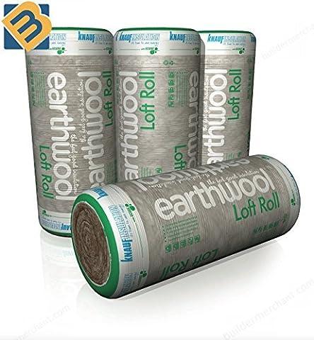 Knauf Earthwool Loft Roll Insulation   200 mm (3.88m2 per roll)