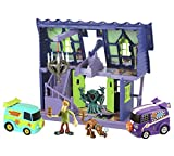 Scooby Doo Haunted Mystery Mansion playset con veicoli e cifre