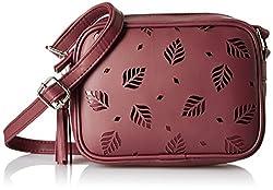Kanvas Katha Womens Handbag (Maroon) (KKSQL003)