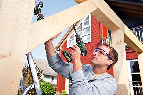 Bosch DIY Akku-Schlagbohrschrauber PSB 18 LI-2, Ladegerät, 2 Akku, Doppelschrauberbit, Koffer (18V, 2,5 Ah, Schrauben-Ø bis 10 mm, BohrØ 35 mm in Holz, 13 mm in Stahl, 15 mm in Mauerwerk) - 3
