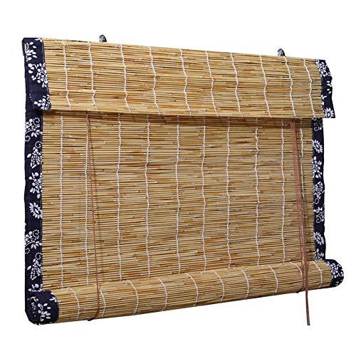 Schattierung Bambus Bildschirm, Bambus Jalousien/Roman Roller Shades, Restaurant Store Abgeschnitten Hintergrund Ornamente, 3 Farben, Mehrere Größen Erhältlich, MTX Ltd, a, 90X220CM -