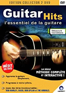 Méthode de guitare Guitar'Hits l'essentiel de la guitare 2 DVD