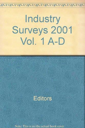 Industry Surveys 2001 Vol. 1 A-D