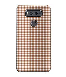 FUSON Designer Back Case Cover for LG V20 Dual H990DS :: LG V20 Dual H990N (Seamless Pattern Blue Design Drawing )