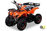 NEU Elektro Kinder Miniquad TORINO 800 Watt ATV Pocket Quad Kinderquad Kinderfahrzeug orange