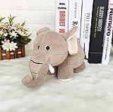 Schöne Stofftiere Lange Nase Elefant Puppe Schlafkissen Baby Kinder Weichem Plüsch Spielzeug 40x25...