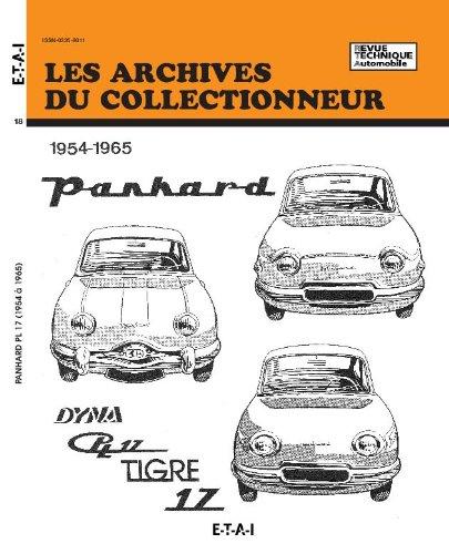Revue Technique Automobile N° 18 Panhard Dyna Z & PL 17