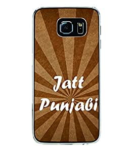 Jatt Punjabi 2D Hard Polycarbonate Designer Back Case Cover for Samsung Galaxy S6 Edge+ :: Samsung Galaxy S6 Edge Plus :: Samsung Galaxy S6 Edge+ G928G :: Samsung Galaxy S6 Edge+ G928F G928T G928A G928I