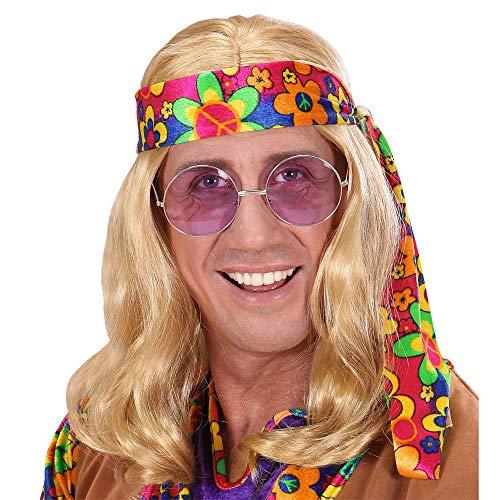 Widmann - Perücke Hippie (Hippie-perücken Halloween Für)