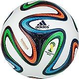 #3: ZAP Adidas Brazuca Fifa 2014 World Cup Official Match Soccer Ball(REPLICA), Size 5 (Multicolour)