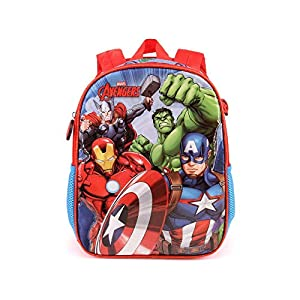 51msy4NkpML. SS300  - Karactermania The Avengers Force-Dual Rucksack (Klein) Mochila Infantil 32 Centimeters 9.25 Multicolor (Multicolour)
