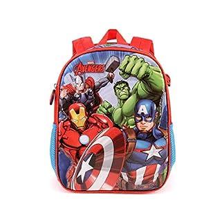 Karactermania The Avengers Force-Dual Rucksack (Klein) Mochila Infantil 32 Centimeters 9.25 (Multicolour)