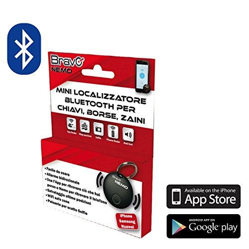 Pixnor chiave Finder 4-in-1 di funzionamento Magicfly radio elettronica Finder localizzatore di chiavi