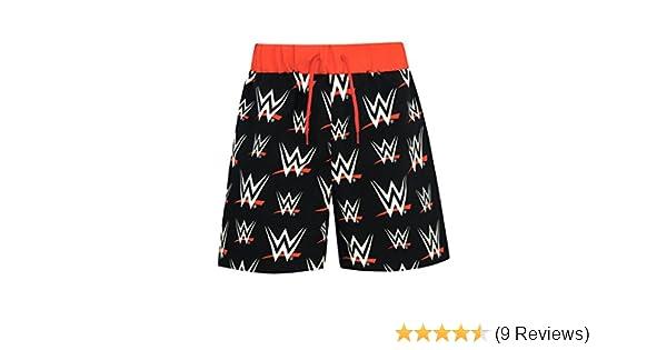 e3584abad305a WWE Boys World Wrestling Entertainment Swim Shorts Ages 5 to 13 Years:  Amazon.co.uk: Clothing