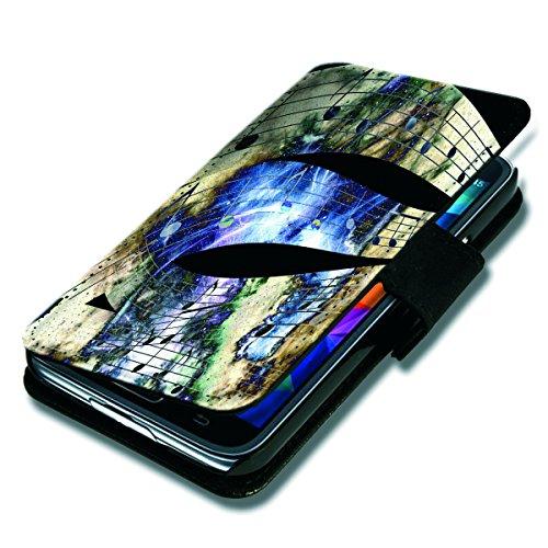 Book Style Flip Handy Tasche Case Schutz Hülle Schale Motiv Foto Etui für Wiko Stairway - Flip BV26 Design3