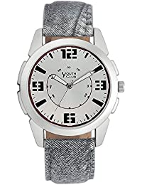 YOUTH CLUB ULTIMATE URBAN ANALOG SILVER DIAL MEN'S WATCH-A