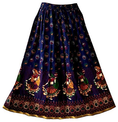 Kurti Studio Women's Premium Cotton Skirt